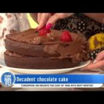 Video-Decadent Chocolate Cake| Studio 10